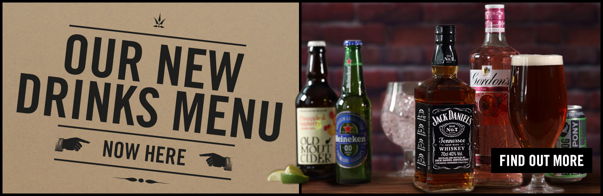 New Drinks Menu Coming Soon at County Hotel