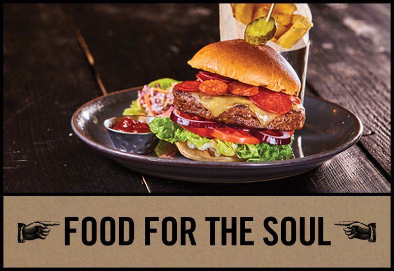 Food for the soul at County Hotel