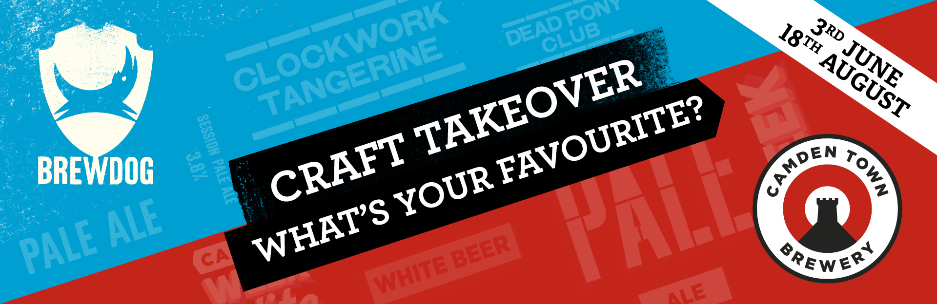 Craft Takeover at County Hotel