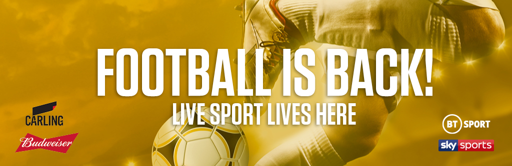 Watch live football at County Hotel